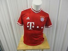 VINTAGE ADIDAS FC BAYERN MUNCHEN LARGE SEWN YOUTH/WOMEN'S JERSEY KIT PRE OWNED