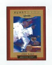 2002 Fleer Showcase Legacy #141 Jorge Nunez Avant Card Expos /175