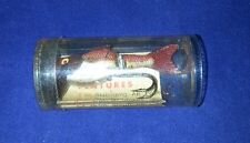 Plucky The swimming Fishing Lure made in france, original container & insert