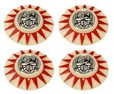 Bally PARAGON Pinball Machine POP BUMPER CAP SET