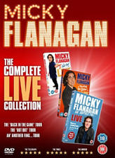 Micky Flanagan The Complete Live Collect  DVD NEW
