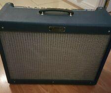 Fender Hot Rod Deluxe 40w Ltd Ed Blue Electric Guitar Tube Amplifier Amp