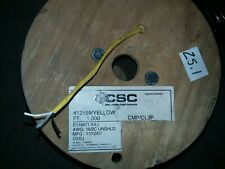 2C 16 AWG Stranded CMP/ CL3P Plenum Cable    1000 ft. Spool