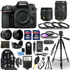 Nikon D7500 Digital Camera + 18-55mm Vr + 70-300mm + 30 Piece Accessory Bundle