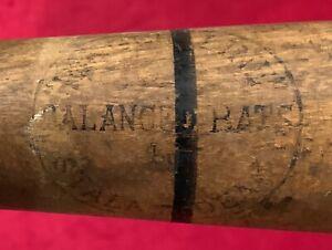 Antique 1930's Stall & Dean Mel Ott Model Balanced Ringer Line Baseball Bat Old