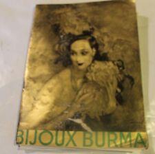 catalogue Bijoux BURMA