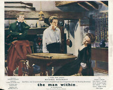 The Man Within original lobby card Joan Greenwood in chair 1946