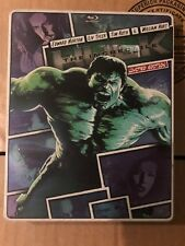 The Incredible Hulk (2013) Limited Edition Steelbook Case (Blu-Ray + DVD)