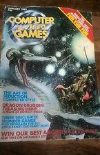 Ordenador & video juegos no 3 de enero de 1982 Revista Retro Gaming Mag