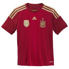 Camiseta de fútbol de selecciones nacionales para niños rojos