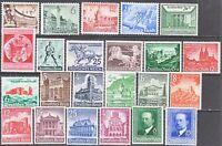Stamp Germany Year 1940 Mi 739-61 Set WWII Fascism Horse Helgoland Adolf MNG