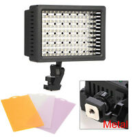 Best Light 160 LED Studio Video Light for Canon Nikon DSLR Camera DV Camcorder