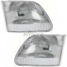 NEW SET OF 2 HEAD LAMP ASSEMBLY FOR 1997-2003 FORD F-150 FO2502139 FO2503139
