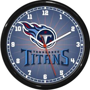 Tennessee Titans NFL Football Wall Clock