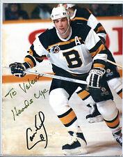 Autographed Cam Neely 8x10 Photo NHL Boston Bruins w/coa jh8x10