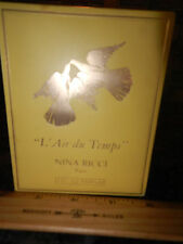 "NEW FACTORY SEALED-""L' AIR DU TEMPS""-NINA RICCI PARIS--1 FL OZ--PARFUM FRAGRANCE"