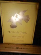 "NEW FACTORY SEALED-""L' AIR DU TEMPS""-NINA RICCI PARIS--1 FL OZ--PARFUM FRAGRANCE"