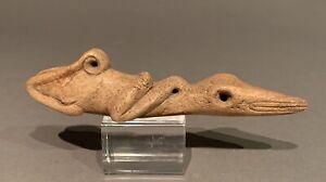 Taino  Long Human To Lizard Transition. Organic. PreColumbian