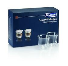 De'Longhi DLSC301 Creamy Collection - 6x Cappuccino Glasses