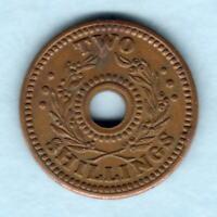 Australia - Internment Camps. WW.11 Two Shillings.  gEF - Trace Lustre