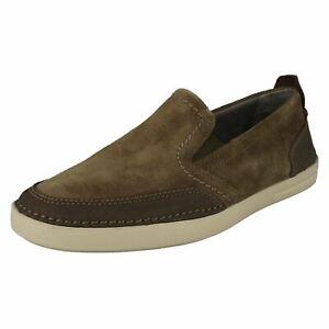 Mens Clarks Casual Slip On Shoes Gosler Race