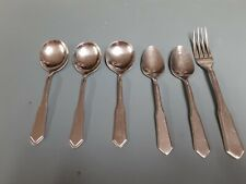World Tableware stainless flatware Wof2 mixed lot of 6 pieces