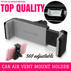 Universal 360 adjustable car phone holder air vent mount stand for Apple / GPS