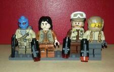 Lego Star Wars minifigures - Ezra leading Rebels