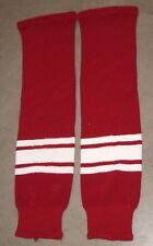 PHOENIX COYOTES game-used red home knit socks 2003-07 seasons NOW DEFUNCT STYLE