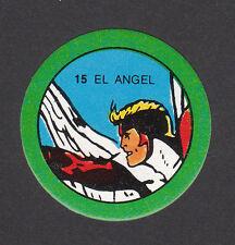 The Angel Marvel Comics 1980 Spanish Disc Card
