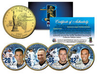 YANKEES CORE FOUR Statehood NY Quarters 4-Coin Set JETER MARIANO POSADA PETTITTE