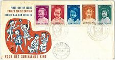 61554 - SURINAME - POSTAL HISTORY - FDC COVER 1963:   CHILDREN