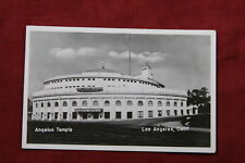 Anqelus Temple, Los Angeles California Postcard - Real Photo Rppc