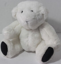 Boston Teddy Bear Company JOINTED TENDER LOVING CARE WHITE Stuffed Plush TOY