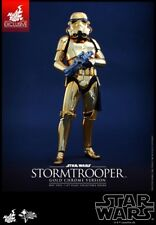 Hot Toys Star Wars Stormtrooper GOLD CHROME ExclusiveMMS 364 - NEW
