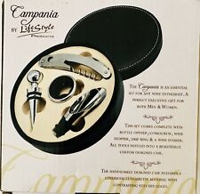 Campania Wine Opener Five Piece Wine Tool Set Gift By Lifestyle Products