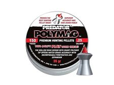 JSB PREDATOR POLYMAG .25 6.35 mm 150 pcs Airgun Pellets HUNTING PELLETS
