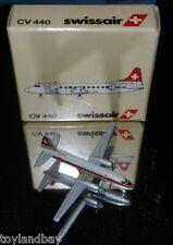 Schabak 1:600 Scale Diecast 933-4 Swissair Convair CV-440 New in Box