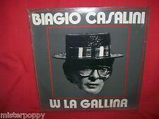 BIAGIO CASALINI W La Gallina LP ITALY 1984 MINT Rarità Totò/A livella Dell'Orso