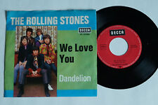 "THE ROLLING STONES -We Love You- 7"" 45"