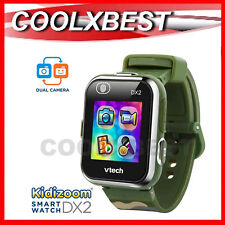 NEW VTECH KiDiZOOM DX2 KID's SMART WATCH / CAMERA TOUCH SCREEN CAMOUFLAGE ARMY