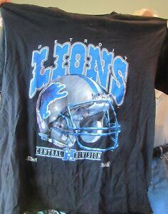 VINTAGE NFL DETROIT LIONS XLT-Shirt NWOT SILVERDOME ERA