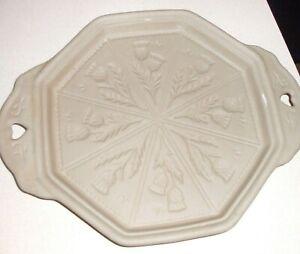 Lakeland Thistle Shortbread Stoneware Mould
