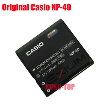 Genuine CASIO NP-40 Battery For EXILIM EX-FC100 FC150 Z1000 Z1200 Z400 Z750 Z850