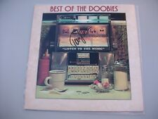 TOM JOHNSON BEST OF THE DOOBIES LP VINYL ALBUM JSA COA