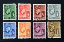 British Virgin Islands George VI stamps complete up to 1/-