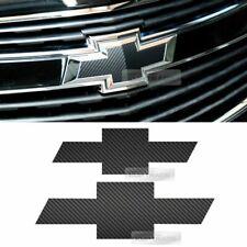 Front Rear Black Carbon Emblem Badge Decal Sticker For CHEVROLET 2008-2012 Cruze