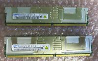2 x Samsung M395T6553CZ4-CE6D0 512MB PC2-5300 CL5 9c 64x8 Fully Buffered ECC DDR