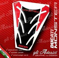 Tankpad Harz Sticker 3D Ducati Monster 696 796 1100 Mod. P5