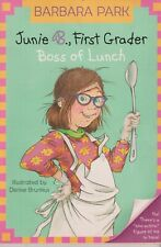 Junie B. First Grader Boss of Lunch (Paperback: Children's  Ages 6-9 Chapter Boo
